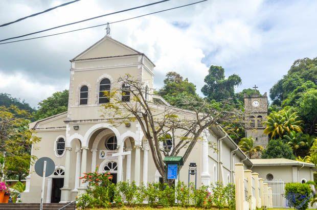 Catedral de Nossa Senhora da Conceição no La Domus em Mahe - Seychelles