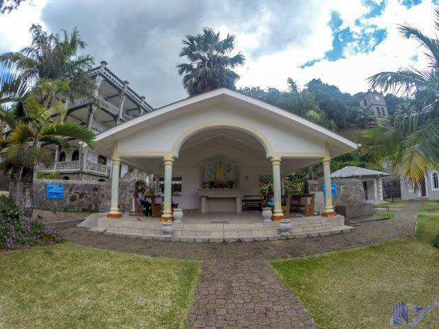 Capelinha Nossa Senhora da Conceição no La Domus em Mahe - Seychelles