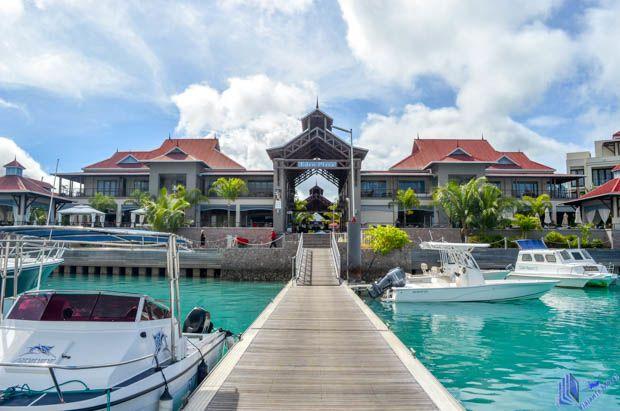Eden Plaza na Eden Island em Mahe - Seychelles