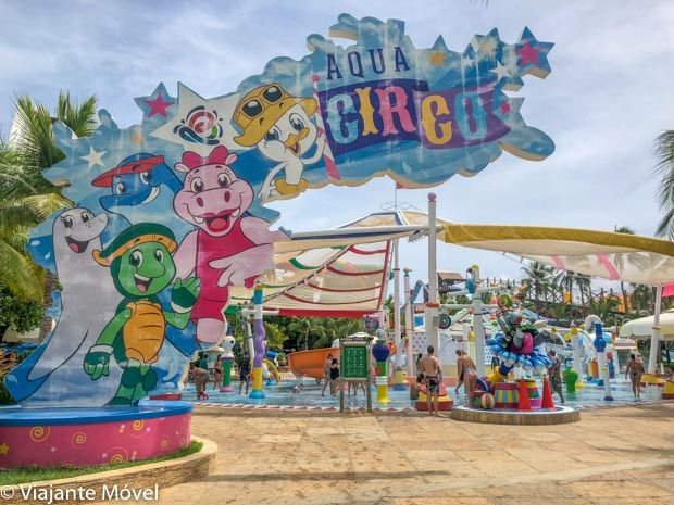 Aqua Circo brinquedo doBeach Park