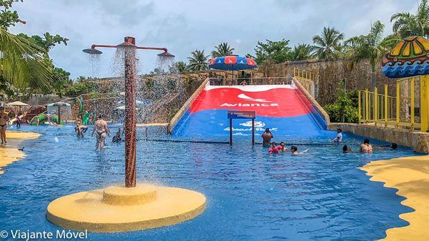 Aquabismo brinquedo doBeach Park