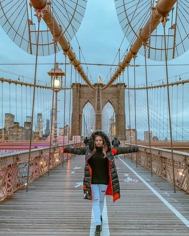 cinco spots incríveis em Nova York para fotos tumblr para instagram- Brooklyn Bridge