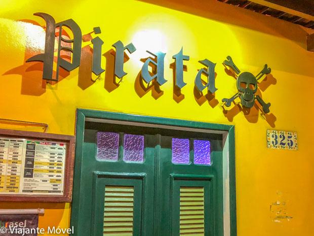 O que fazer em Fortaleza-pirata bar