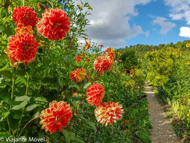 Jardins de Monet em Giverny na França