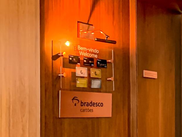 Sala VIP Bradesco Lounge no Aeroporto de Congonhas