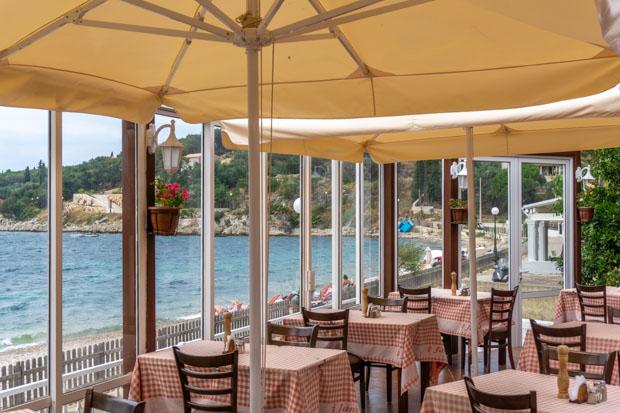 Janis Tavern Restaurant em Corfu na Grécia