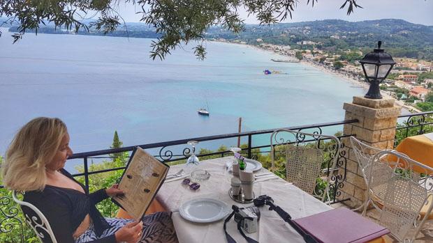 Taverna Le Grand Balcon restaurante em Corfu na Grécia