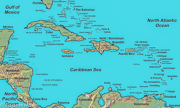 5 Ilhas do Caribe, descubra aquela que tem sua vibe.