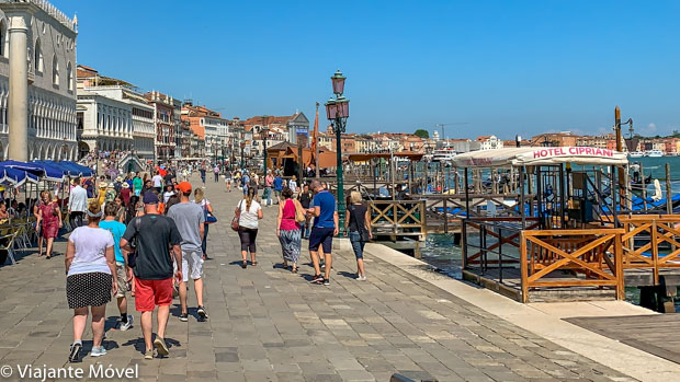 Como se locomover em Veneza