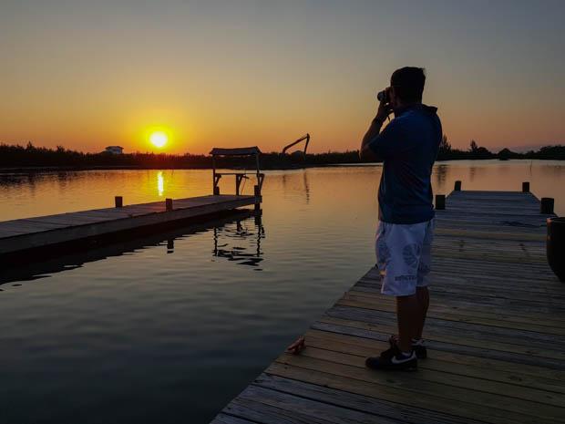Sunset em Belize