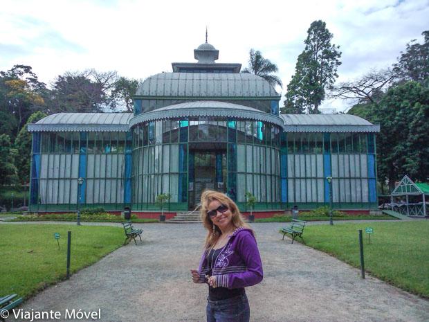 Palácio de Cristal em Petrópolis no Rio de Janeiro