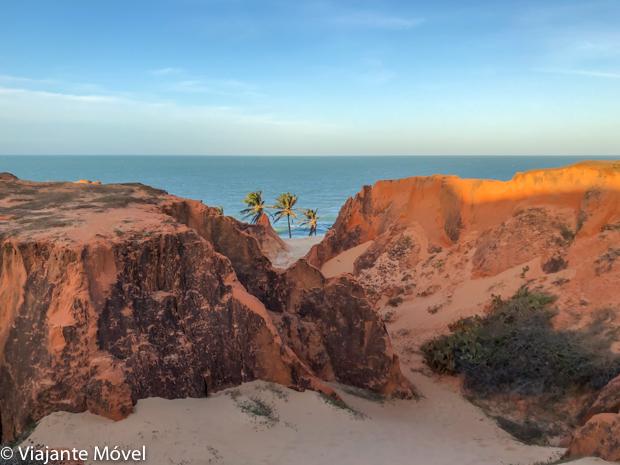 O que fazer em Morro Branco no litoral leste do Ceará