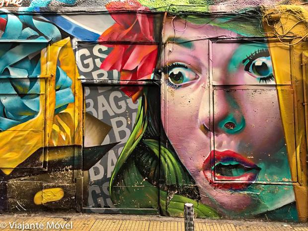 Onde ver arte de rua em Atenas na Grécia