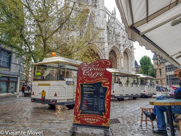 Como se locomover em Rouen na Normandia