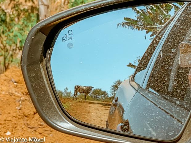 Viagem de carro pelas estradas de Minas Gerais