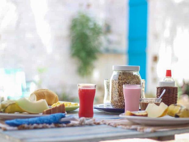 Café da manhã em Jericoacoara