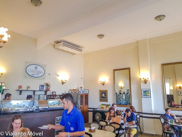 Visita a Confeitaria Colombo no Forte de Copacabana, Rio de Janeiro