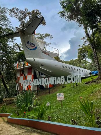 Pousada do avião em Monte Verde, Minas Gerais