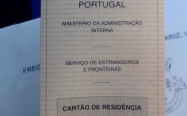 Cartão de Residência Português