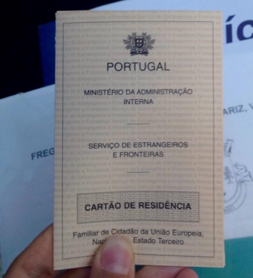 autorização de residência em Portugal