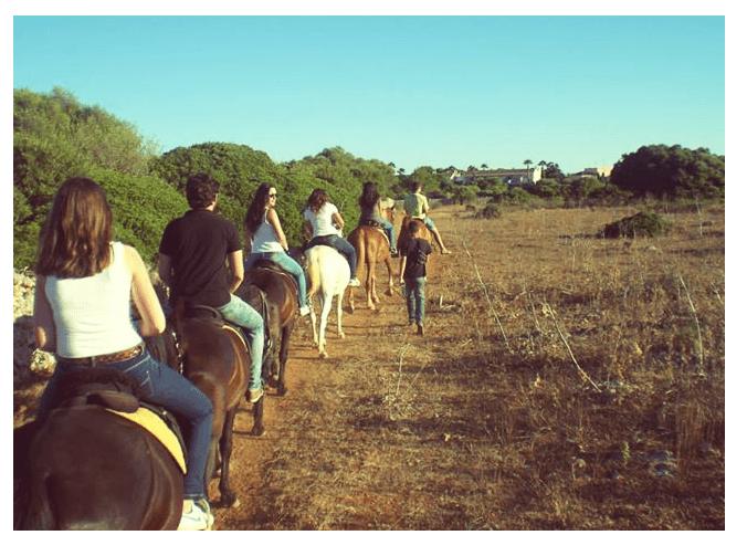 Hípica en Menorca
