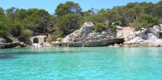 Playas casi vírgenes en Menorca