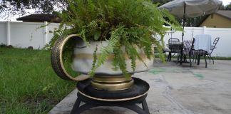 Decora tu jardín con elementos reciclados