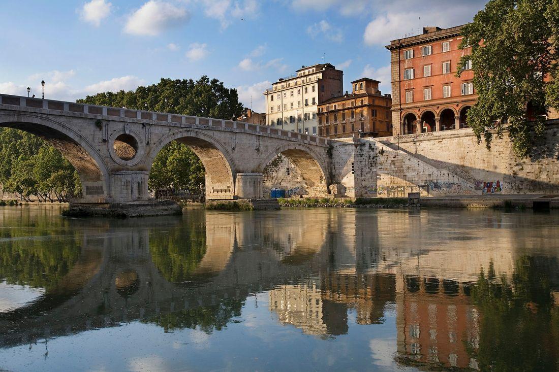 Puente Sisto en Roma
