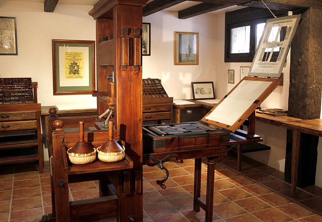 Emprenta del Quijote en Madrid