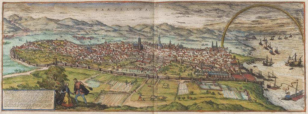 Barcelona en 1535