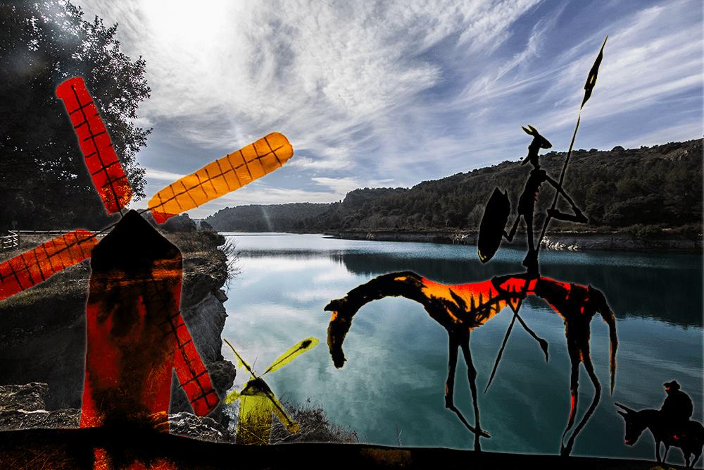 Las huellas del Quijote por Las lagunas de Ruidera