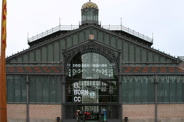 Mercat del Born Barcelona foto de José Luiz Bernardes Ribeiro wikimedia commons