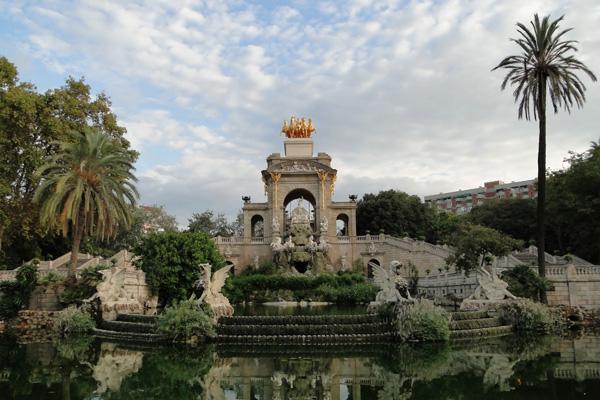 Parc de la ciutadella de Barcelona foto de Bernard Gagnon wikimedia commons