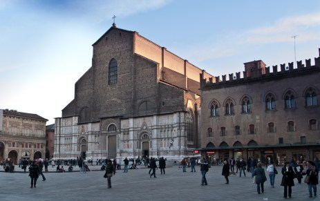 Piazza San Petronio en Bologna