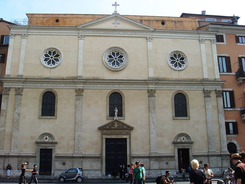 San Giacomo de los Espanoles en Napoles foto de Lalupa Wikimedia Commons