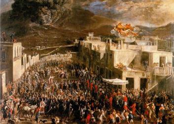 Eruzione del Vesuvio del 16 dicembre 1631 (Micco Spadaro).