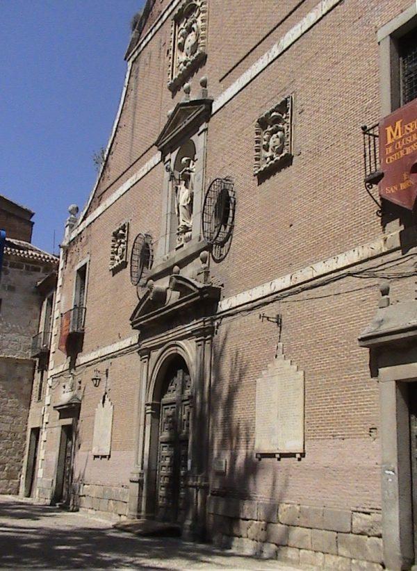 Convento de San Bernardo Alcala de Henares foto de Raimundo Pastor Wikimedia Commons