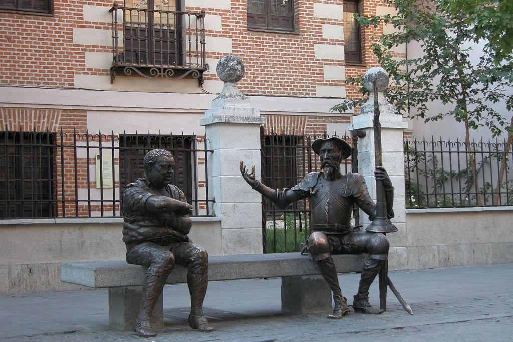 Casa Natal de Cervantes en Alcala de Henares foto de Pedro Requejo Novoa Wikimedia Commons