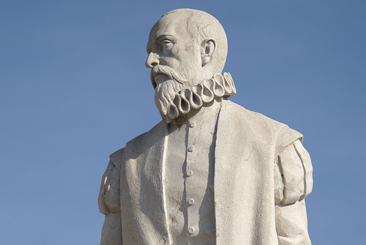 Monumento a Cervantes en Esquivias