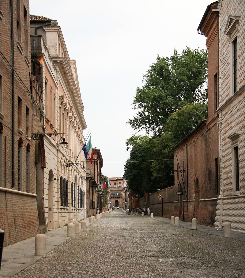 Corso Ercole I Este en Ferrara