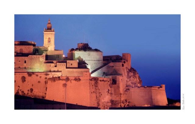 Gozo Citadel  at Night