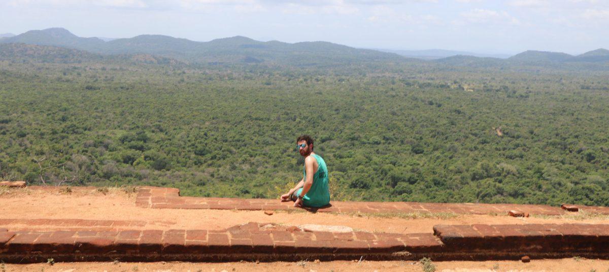 Vistas des de arriba de la roca de Sigiriya