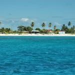 Vista de La Isla Saona