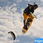Kiteboarding in the Sky