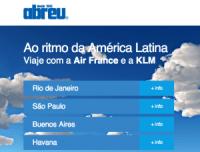Voos económicos para cidades sul-americanas