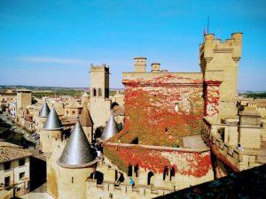 Olite, Navarra con niños II: Olite, Viajar despeina