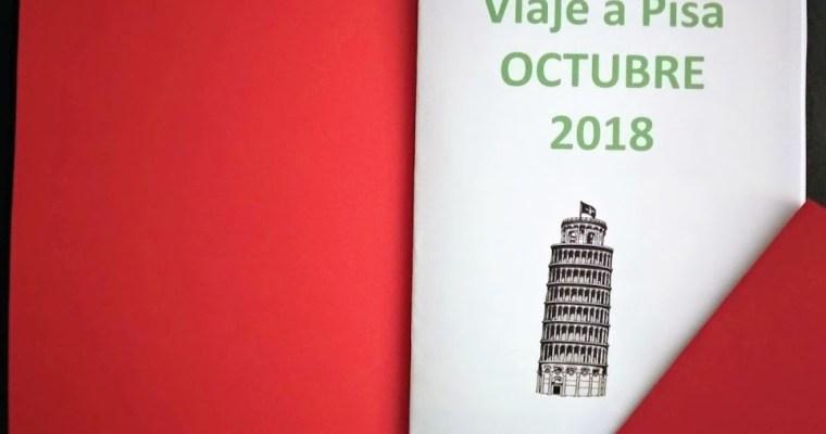 Mi primer pasaporte lúdico: Pisa