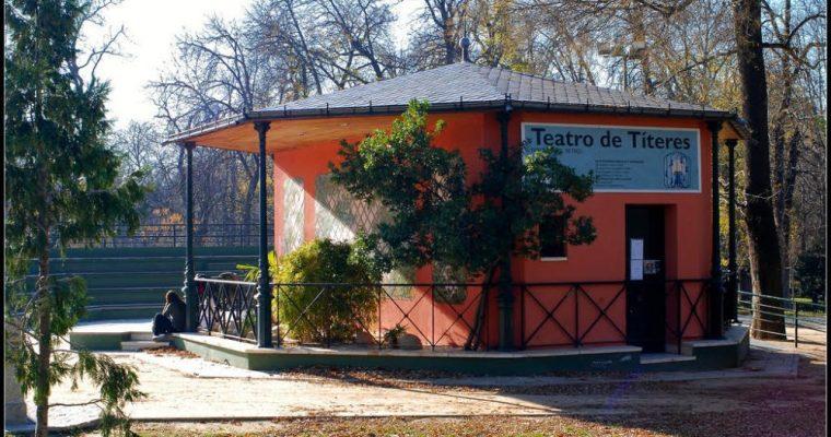 Teatro de Títeres en el Retiro para niños