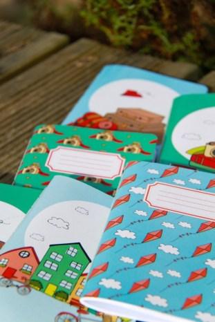 cadernos viajar em familia e nuts for paper