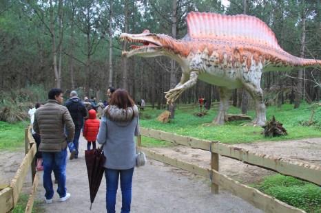 Dino Parque percurso